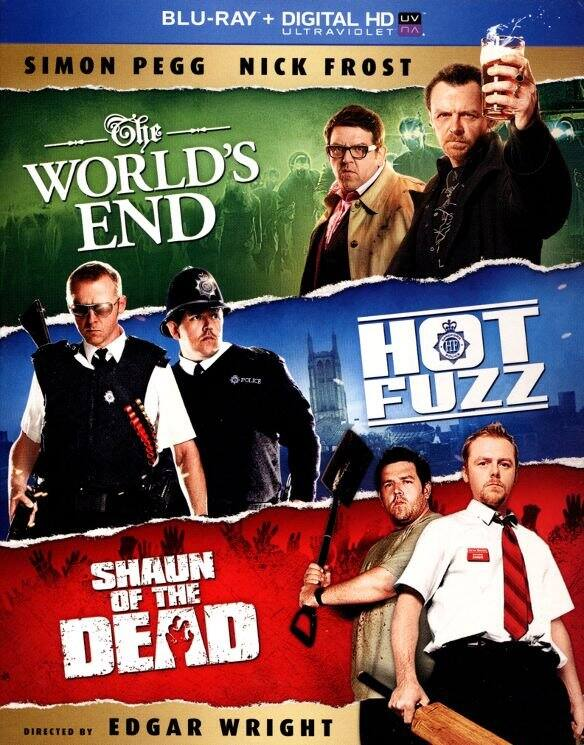 The World's End / Hot Fuzz / Shaun of the Dead Trilogy (Blu-ray + Digital HD) or Meet the Parents: The Whole Focker Collection (Blu-ray) $12.99 Each + Free Store Pickup @ Best Buy