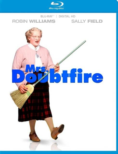 $4.99 Blu-ray Movies: Mrs. Doubtfire, Miss Peregrine's Home for Peculiar Children, The Pagemaster & More + Free Store Pickup @ Best Buy