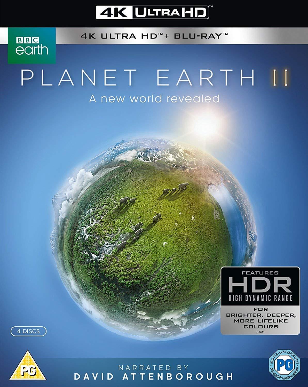 Planet Earth II (4K Ultra HD + Blu-ray) $19.40 Shipped, Blue Planet: The Collection (Region-Free Blu-ray) $15.65 Shipped @ Amazon UK