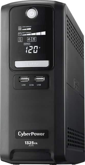 Fry's Email Exclusive: CyberPower 1325VA 810W Simulated Sine Wave 10-Outlet UPS Mini Tower $99 + Free Store Pickup