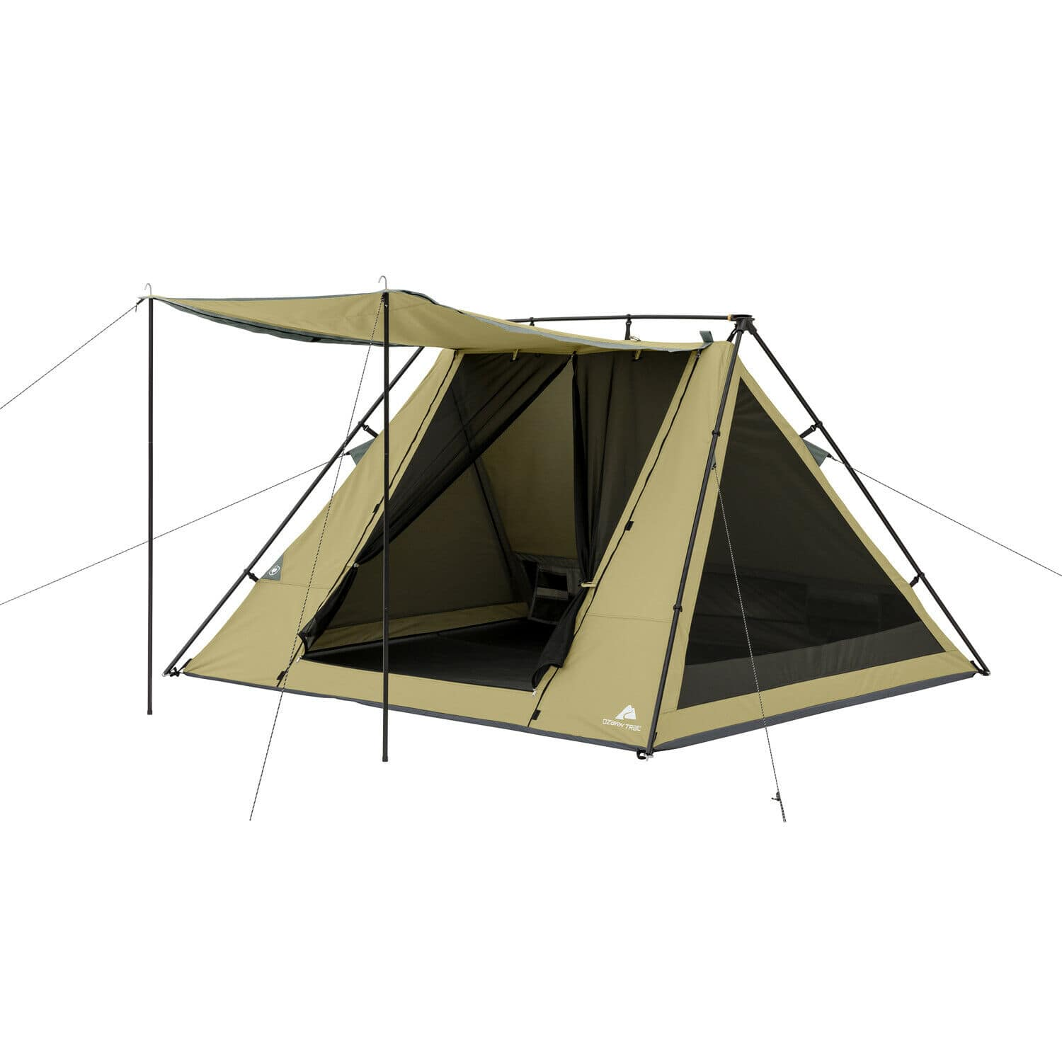 Ozark Trail 4-Person A-Frame Tent with Awning $32.30 + Free Shipping