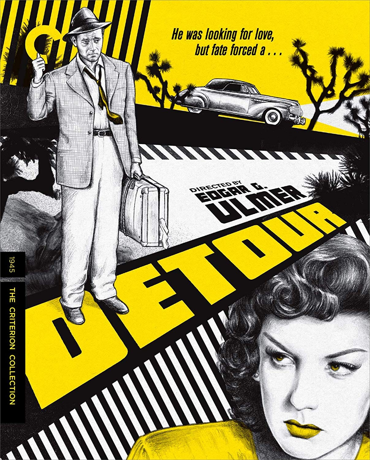 Detour: The Criterion Collection 1945 (4K Mastered Blu-ray) $17.24 @ Amazon
