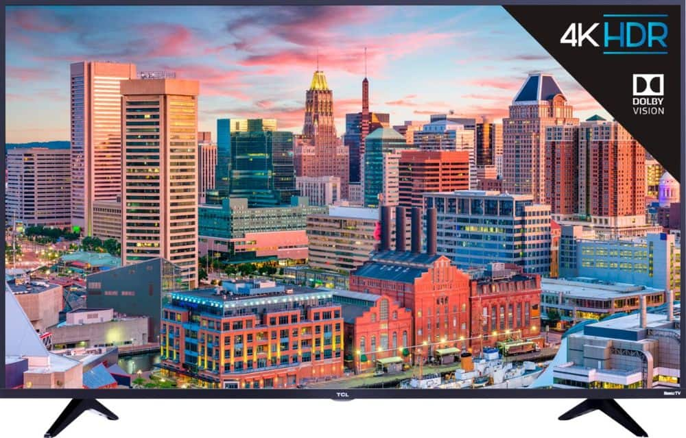 "49"" TCL 49S515 5 Series 4K UHD HDR Roku Smart LED HDTV $270 + Free Shipping"
