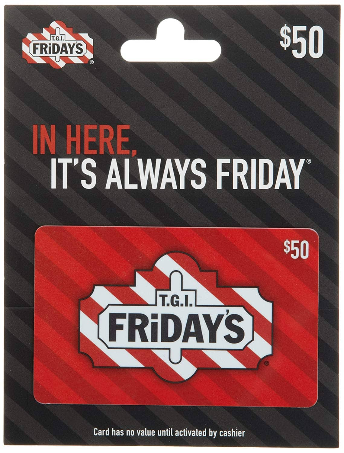 $50 Cinemark Theatres, T G I  Friday's or rue21 Gift Card