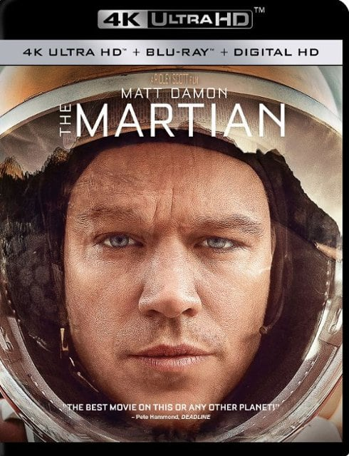 buy online ed154 83094 4K Movies  The Martian, Die Hard 30th Anniversary, The Revenant, Logan    More
