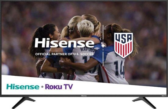 """65"""" Hisense 65R6070E 4K UHD HDR Roku Smart LED HDTV $400 + Free S/H"""