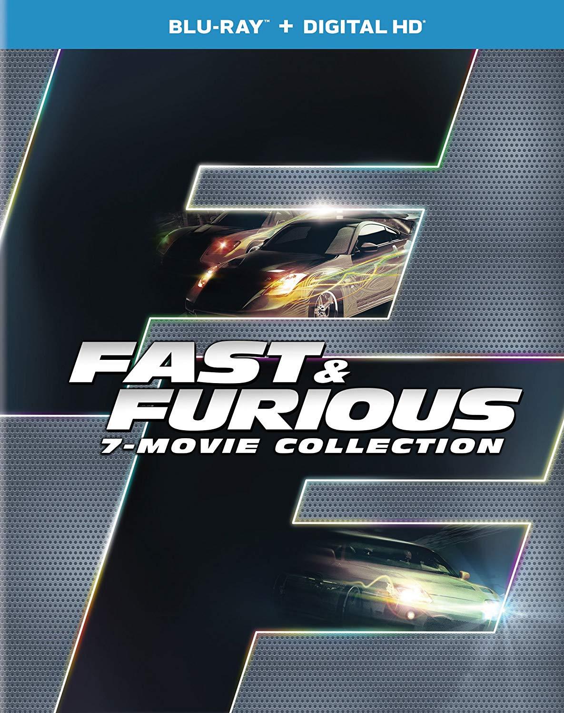 Fast & Furious 7-Movie Collection (Blu-ray + Digital HD) $16 @ Amazon