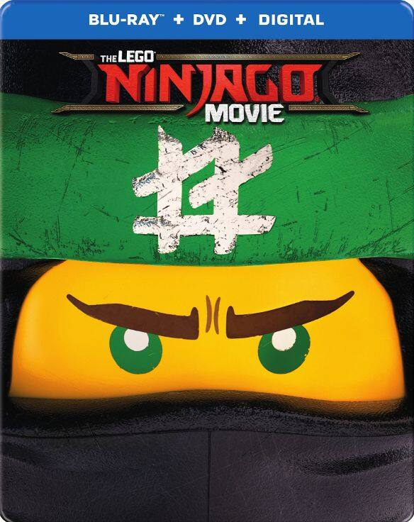 My Best Buy Members: The LEGO NINJAGO Movie Steelbook (Blu-ray + DVD + Digital HD) $9.99 + Free Shipping