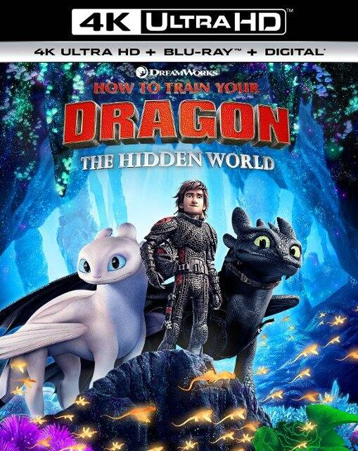 How to Train Your Dragon: The Hidden World (4K Ultra HD + Blu-ray + Digital HD) $14.99 + Free Store Pickup @ Best Buy