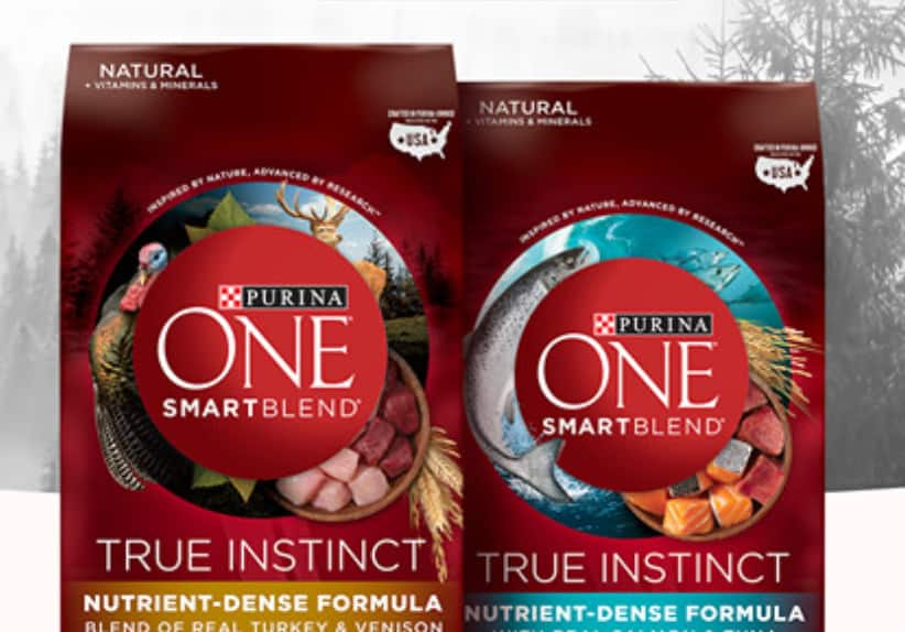 Free Coupon for 1 Bag of Purina ONE True Instinct Cat or Dog Food (Select States, Up to $9.99)