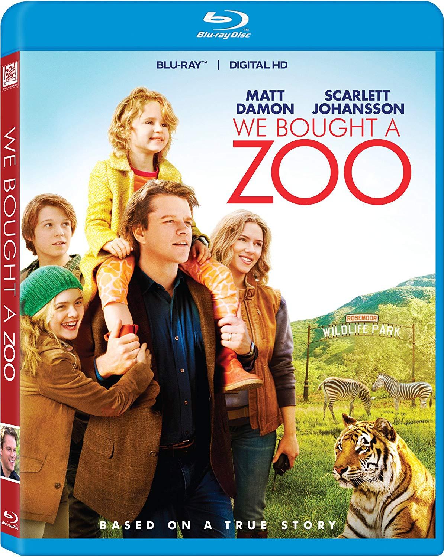 We Bought A Zoo (Blu-ray + Digital HD) $4.99 @ Amazon