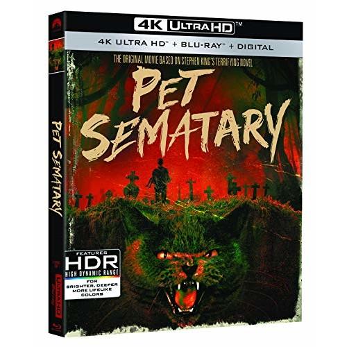 Pet Sematary 30th Anniversary Edition (4K Ultra HD + Blu-ray + Digital) $12.24 @ Amazon & Walmart