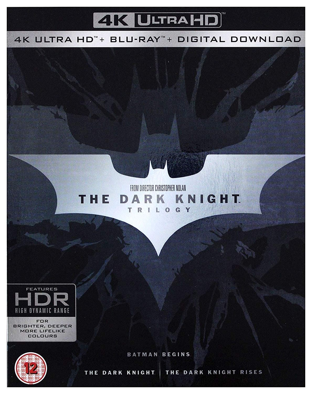 The Dark Knight Trilogy (4K UHD + Blu-ray) $38 Shipped @ Amazon UK