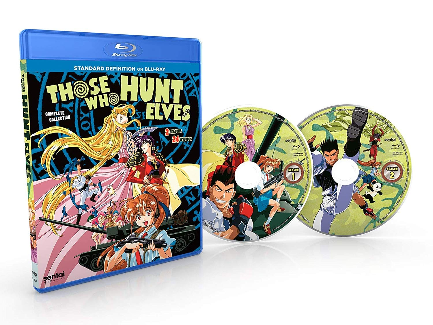 Anime: Those Who Hunt Elves: The Complete Collection (Blu-ray) $18.99 @ Amazon