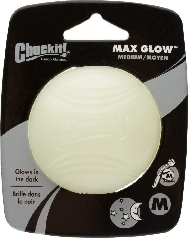 Chuckit! Max Glow Ball Dog Toy $1.75 w/ S&S + Free S&H