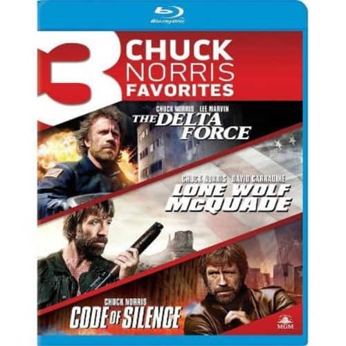 The Delta Force + Lone Wolf McQuade + Code of Silence (Blu-ray) $7.05 + Free Store Pickup