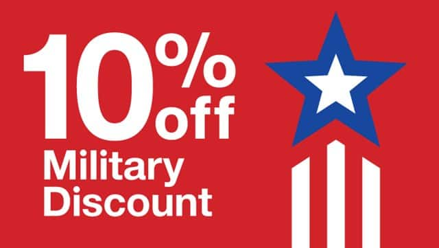 Target: 10% Off Storewide Coupon for Military, Veterans & their Families *11/3 – 11/11* (Exclusions Apply)