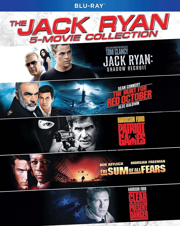 Jack Ryan 5-Movie Collection (Blu-ray) $12.96 @ Amazon & Walmart