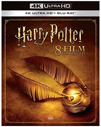 Harry Potter 8-Film Collection (4K UHD + Blu-ray) $79.49, Harry Potter: Hogwarts Collection Collector's Edition (Blu-ray + Digital) $84.49 + Free Shipping @ Amazon