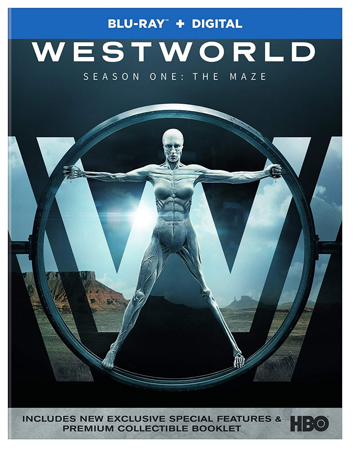 Westworld: The Complete First Season (Blu-ray + Digital HD) $10.48 Shipped
