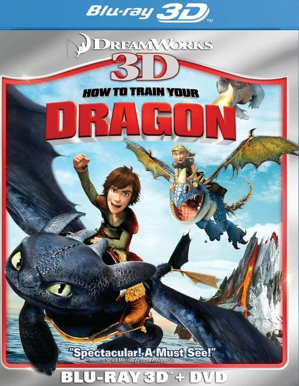 How to Train Your Dragon (3D Blu-ray + DVD) $5.99 + Free Shipping @ Best Buy