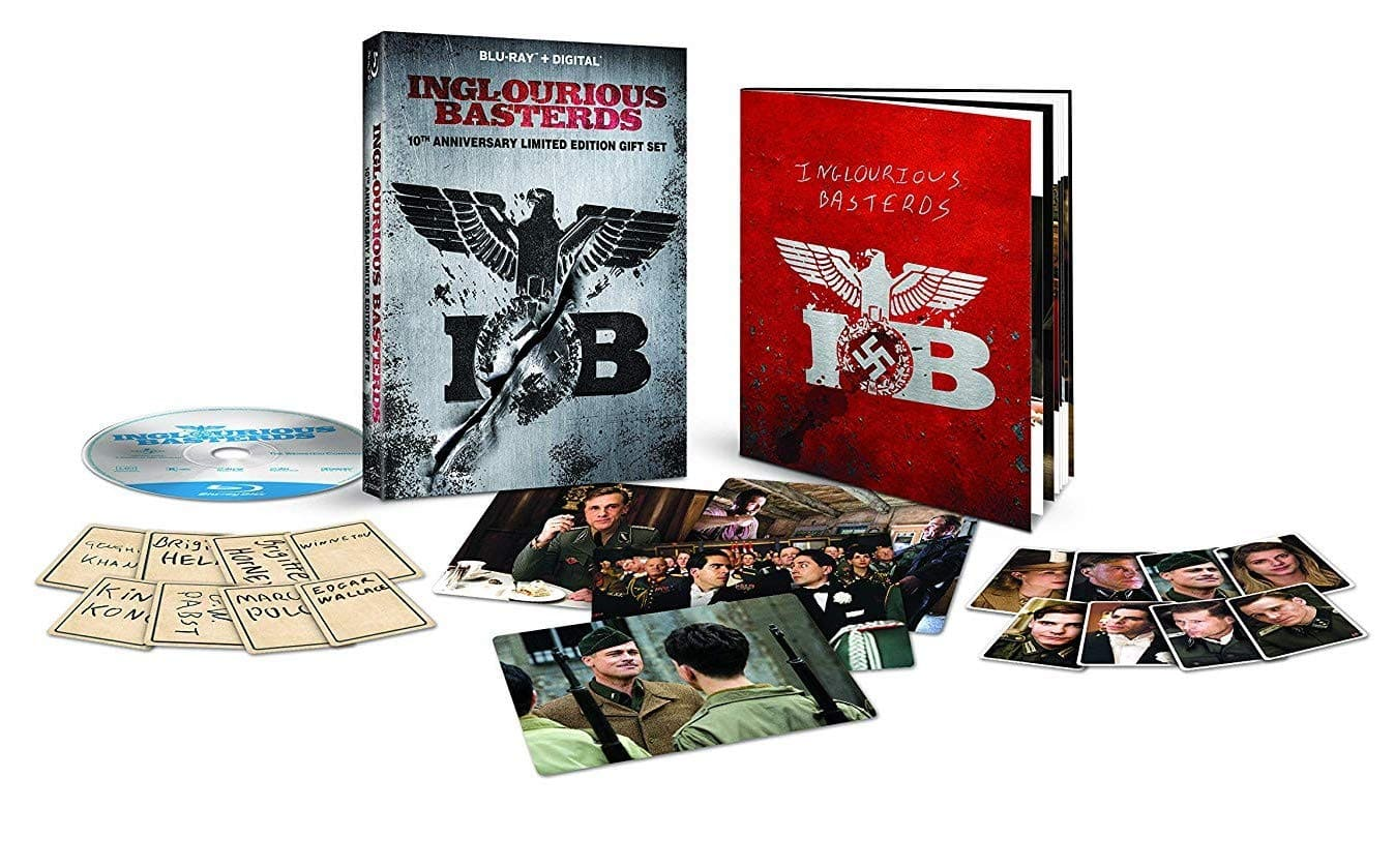 Inglourious Basterds 10th Anniversary Limited Edition Gift Set (Blu-ray + Digital) $11.99 @ Amazon