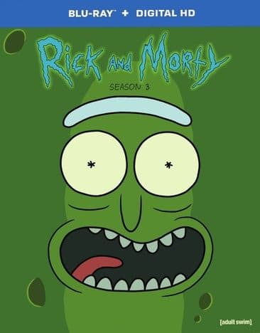 Rick and Morty: Season 1 (Blu-ray), Seasons 2-3 (Blu-ray + Digital HD) $9.98 Each + Free Shipping