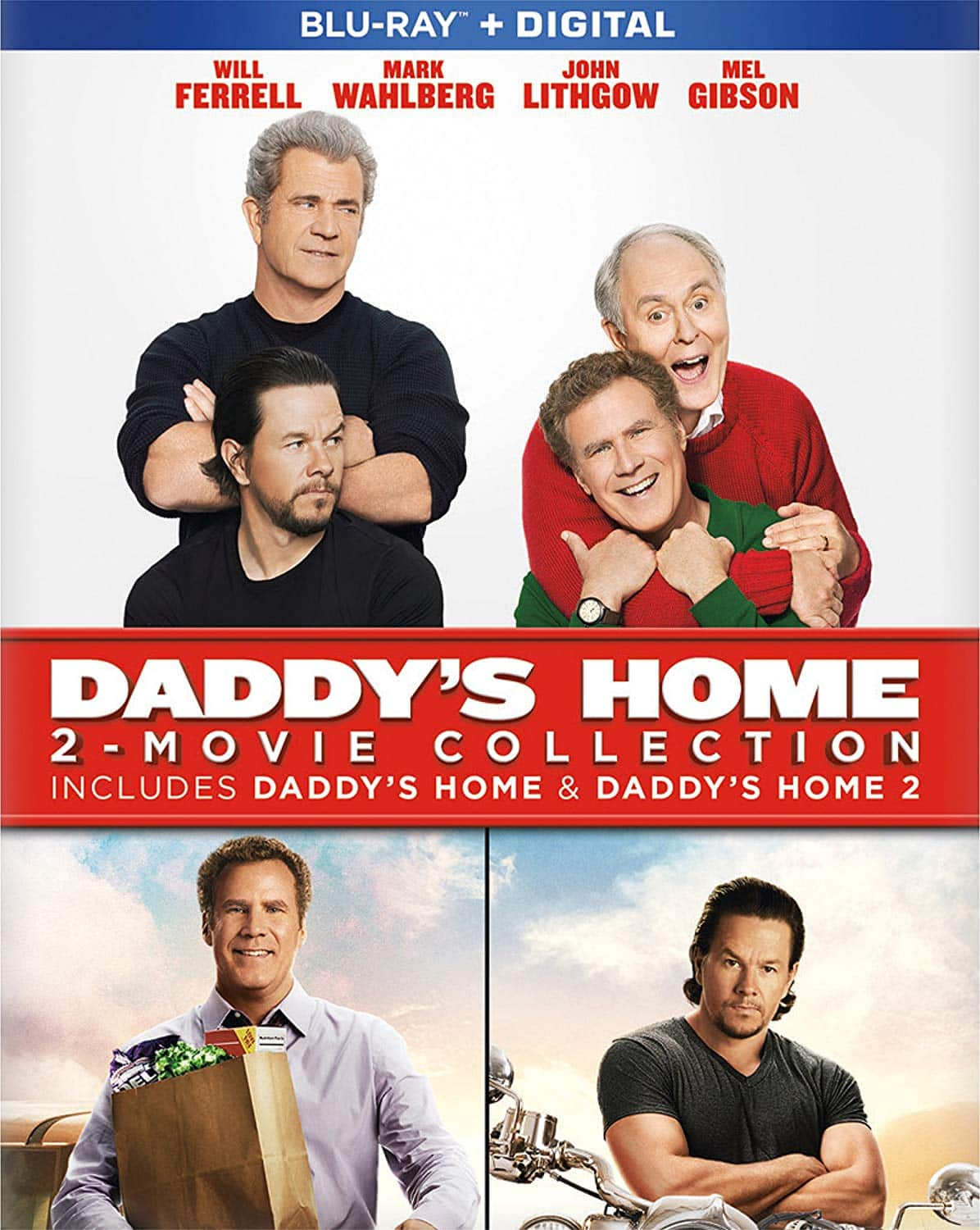 Daddy's Home 2-Movie Collection (Blu-ray + Digital) $7.99 @ Amazon & Best Buy