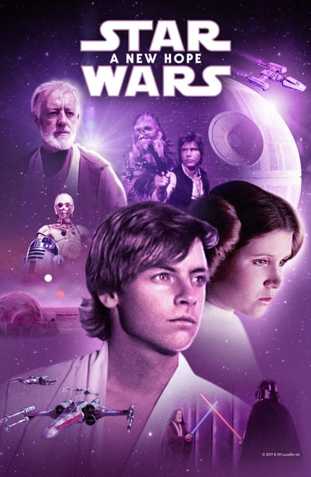 Star Wars (Digital HD): Star Wars: A New Hope, Star Wars: The Empire Strikes Back, Star Wars: Return of the Jedi $9.99 Each & More @ Apple iTunes