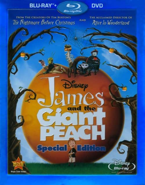 Disney: James & The Giant Peach Special Edition (Blu-ray + DVD) or The Great Mouse Detective $5.99 Each @ Best Buy
