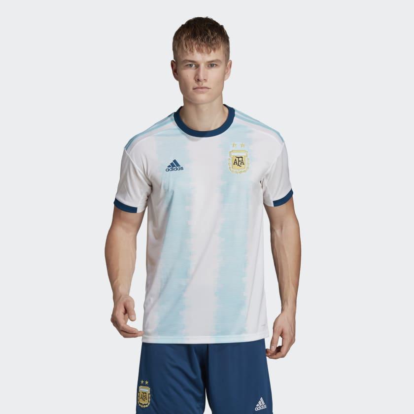 adidas Men's Argentina Home Soccer Jersey (S, XL, 2XL)
