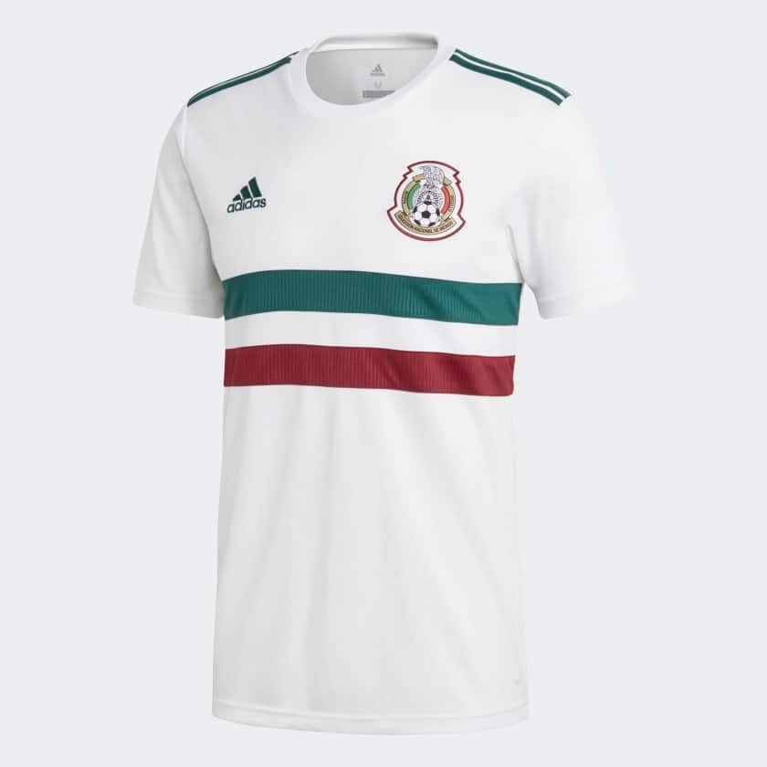 adidas Men's Mexico Away Soccer Jersey $31.50 + Free Shipping