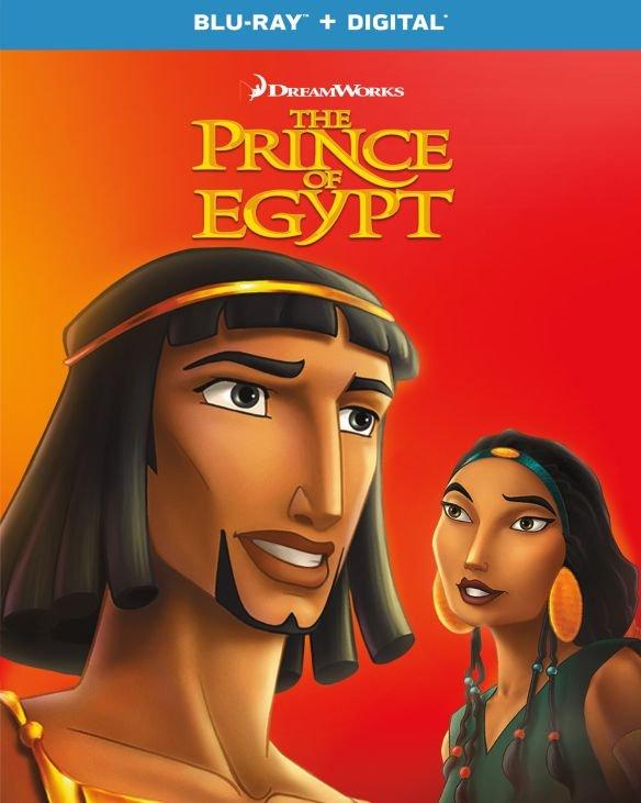 The Prince of Egypt (Blu-ray + Digital) $4.99 + Free Curbside Pickup @ Best Buy