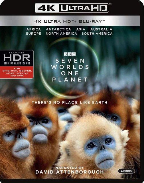 Seven Worlds, One Planet (4K UHD + Blu-ray) $29.99 + Free Curbside Pickup @ Best Buy
