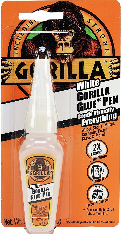 0.75-Oz Gorilla White Glue Pen Precision Tip Bottle $2 @ Amazon
