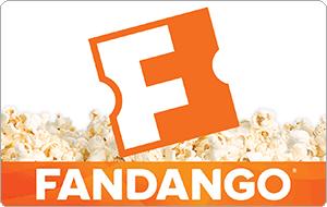 $25 Fandango eGift Card (Email Delivery) $18.60