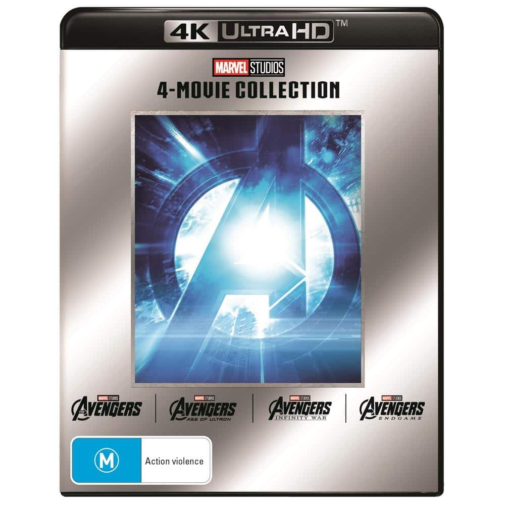 Buy 1 Get 1 Free Blu-ray & 4K UHD Movies & Box Sets: Avengers: 4-Movie Collection (4K Ultra HD) + Captain America: 3-Movie Collection (4K Ultra HD) $50 Shipped @ JB HI-FI