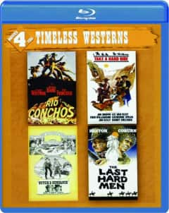 Timeless Westerns 4-Movie Collection (Blu-ray): Butch & Sundance: The Early Years, Rio Conchos, Take a Hard Ride & The Last Hard Men $9.95 Shipped @ HamiltonBook