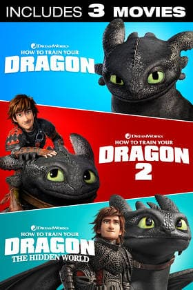How To Train Your Dragon Trilogy (Digital 4K UHD Films) $19.99 or Less @ FandangoNow