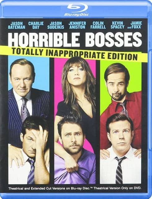 Horrible Bosses: Totally Inappropriate Edition (Blu-ray + DVD) $3.99 + Free Store Pickup @ Best Buy