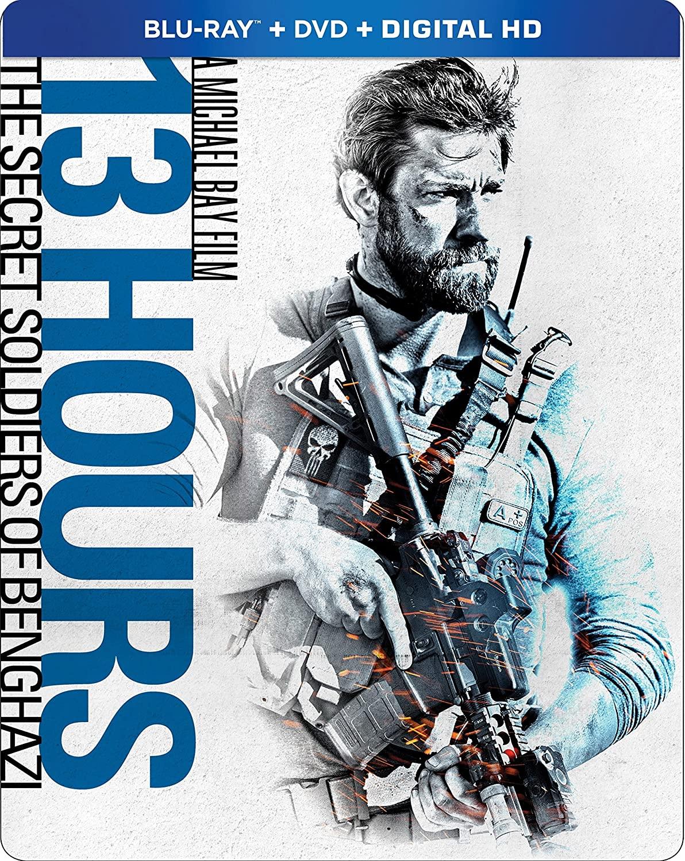 13 Hours: The Secret Soldiers of Benghazi Steelbook (Blu-ray + DVD + Digital HD) $8.96 @ Amazon