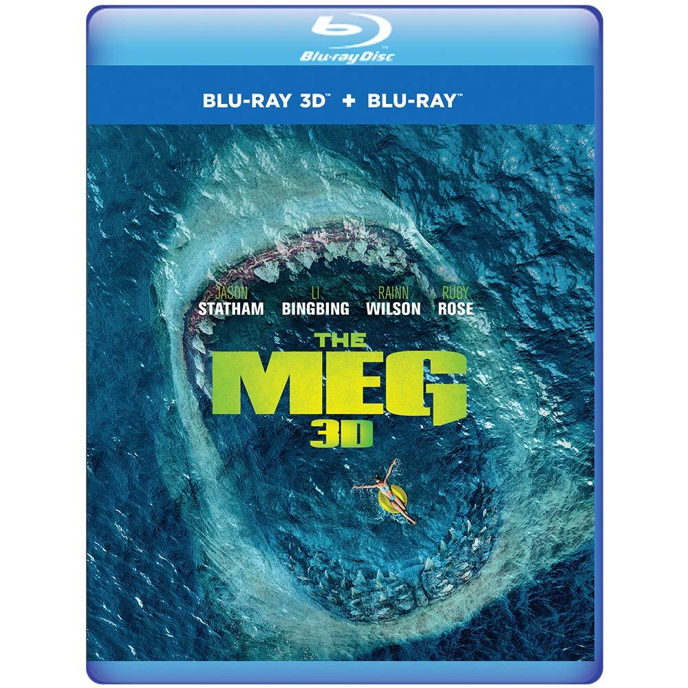 The Meg (Region Free Blu-ray 3D + Blu-ray) $10.99 Shipped @ Amazon UK