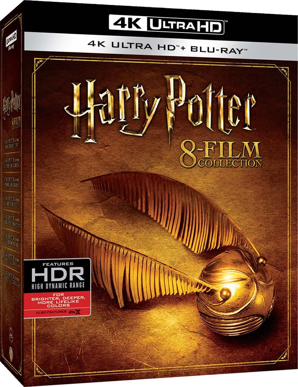 Harry Potter 8-film Collection (4K UHD + Region-Free Blu-ray) $72.67 Shipped @ Amazon Italy