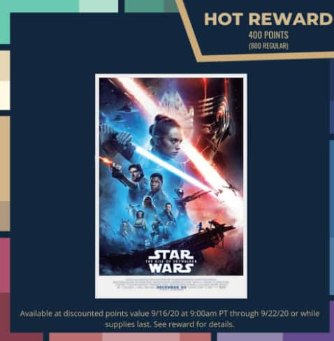 Disney Movie Rewards Insiders Members: Rise of Skywalker Poster 400 DMR Points, Incredibles, Coco, Brave Blu-ray Movies 1200-1250 DMR Points Each (Starting 9/16)