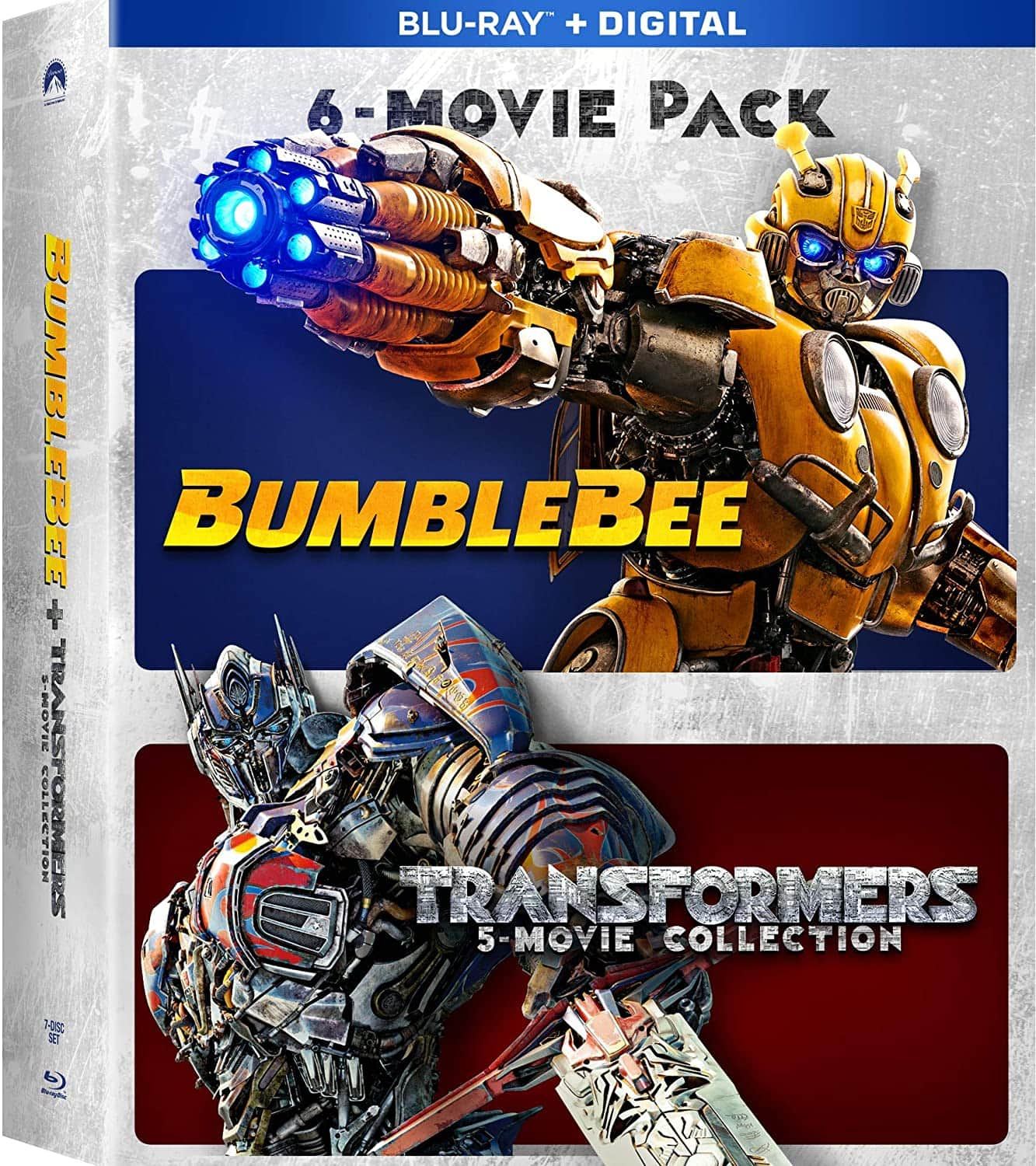 Prime Members: Bumblebee & Transformers Ultimate 6-Movie Collection (Blu-ray + Digital) $23.99 + Free Shipping