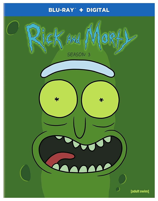 Rick and Morty: Season 3 (Blu-ray + Digital) $6.67 @ Amazon