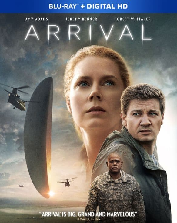 Arrival (Blu-ray + Digital) $4.99 + Free Curbside Pickup @ Best Buy