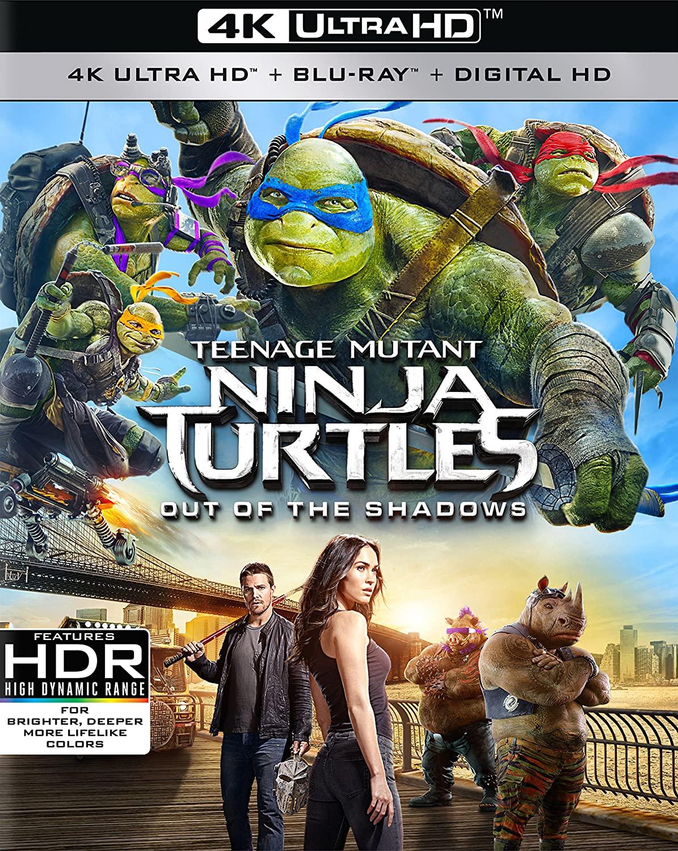 Teenage Mutant Ninja Turtles: Out of the Shadows (4K UHD + Blu-ray + Digital) $9.96 @ Walmart & Amazon