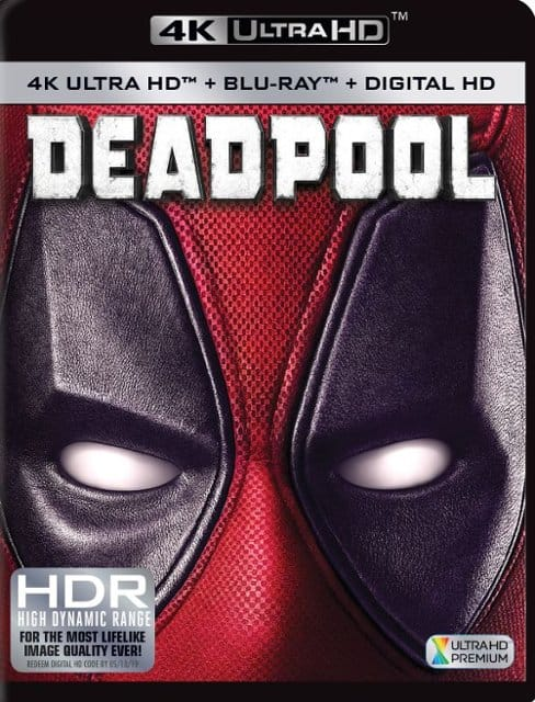 Deadpool (4K UHD + Blu-ray + Digital) $11.99, Deadpool 2 (4K UHD + Blu-ray + Digital) $10.99 + Free Curbside Pickup @ Best Buy