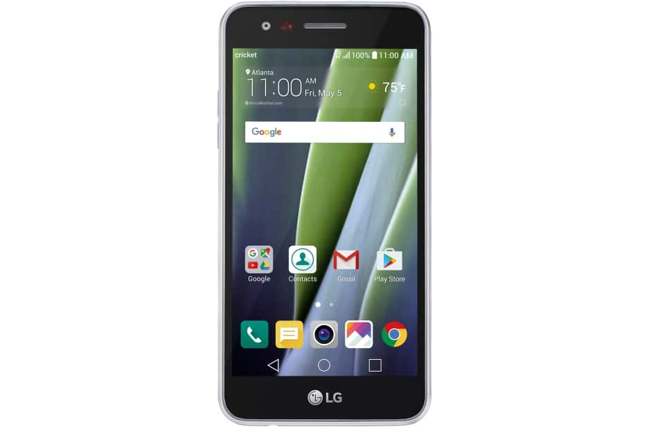 "5"" Cricket LG Risio 2 at Best Buy for $30, unlockable for $1.85 at ebay."